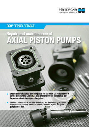 360°REPAIR SERVICE - Repair and maintenance of AXIAL PISTON PUMPS