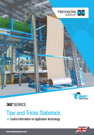 360°SERVICE - Tips and Tricks for slabstock lines