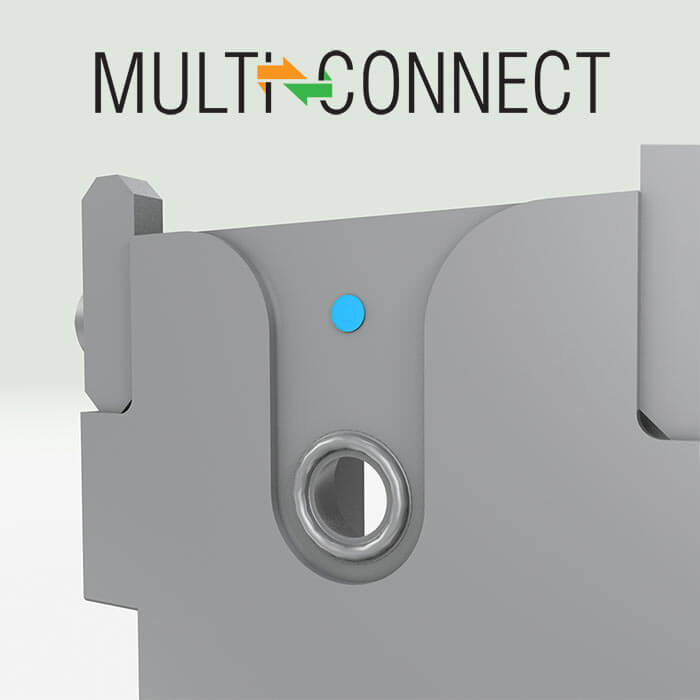 In-mould pressure sensor