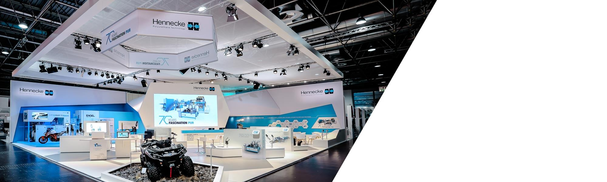 Click here to find out which trade fairs and symposiums Hennecke GROUP is taking part in