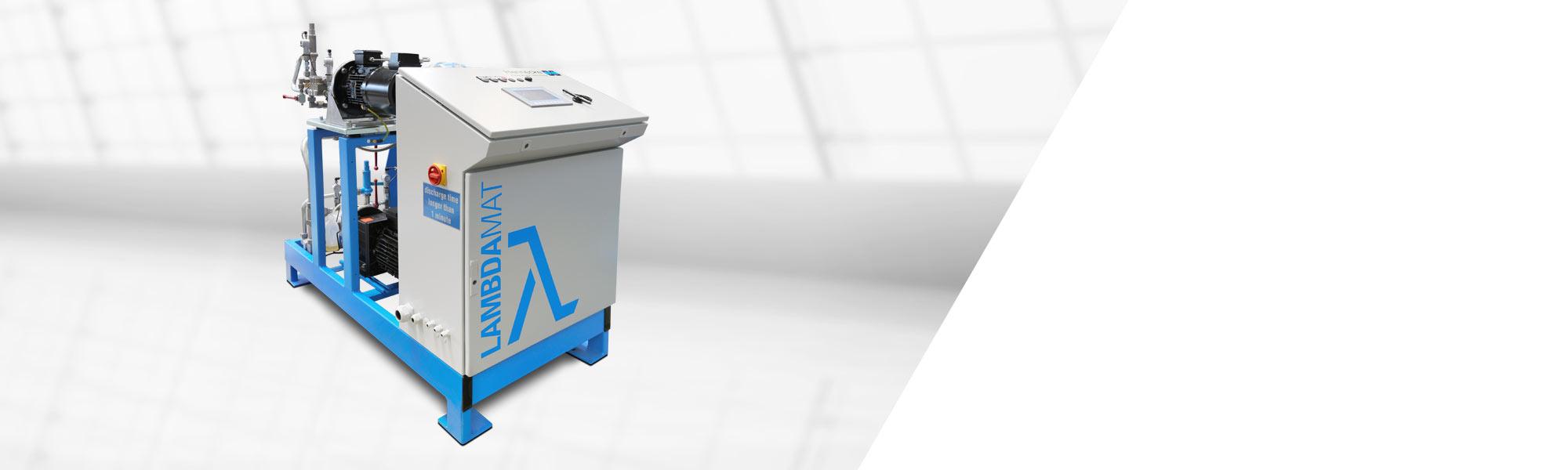 배치(batch) 프로세스에서 HFO(예: Solstice® LBA) 및 기타 발포제의 정확한 메터링을 위한 프리믹싱 스테이션