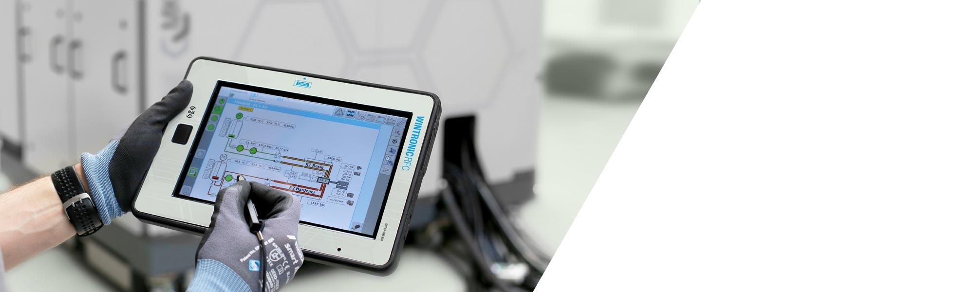 HP-RTM, clearmelt® 및 CLEARRIM 어플리케이션을 위한 고압 메터링 머신