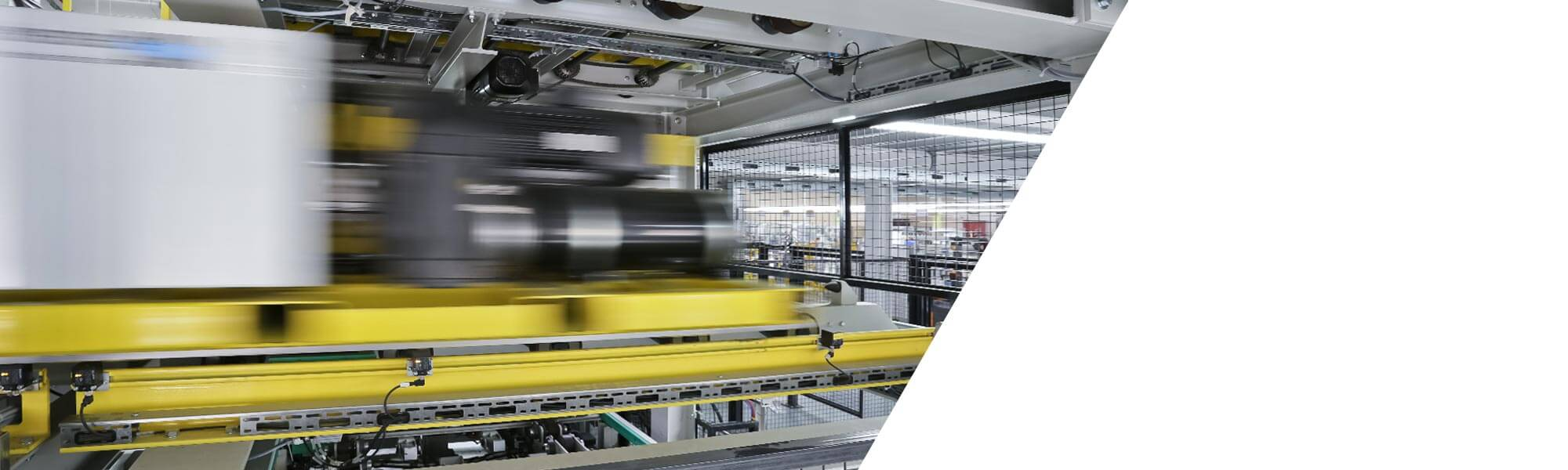 Automated production of insulated door elements with different curing times