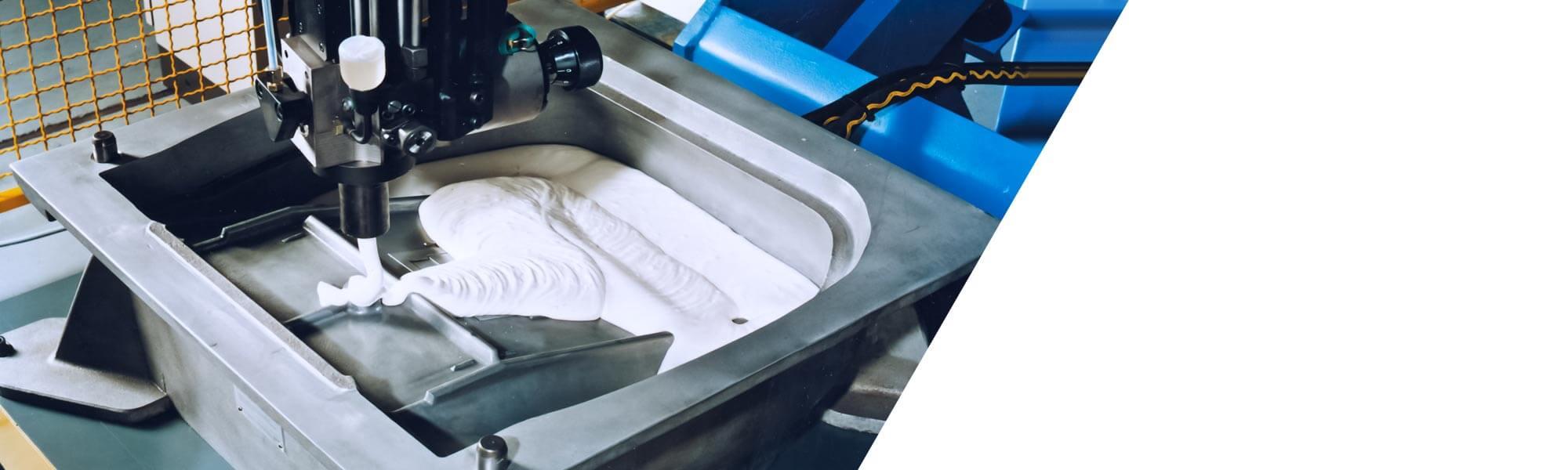 성형 발포 제품의 생산을 위한 모듈라 시스템