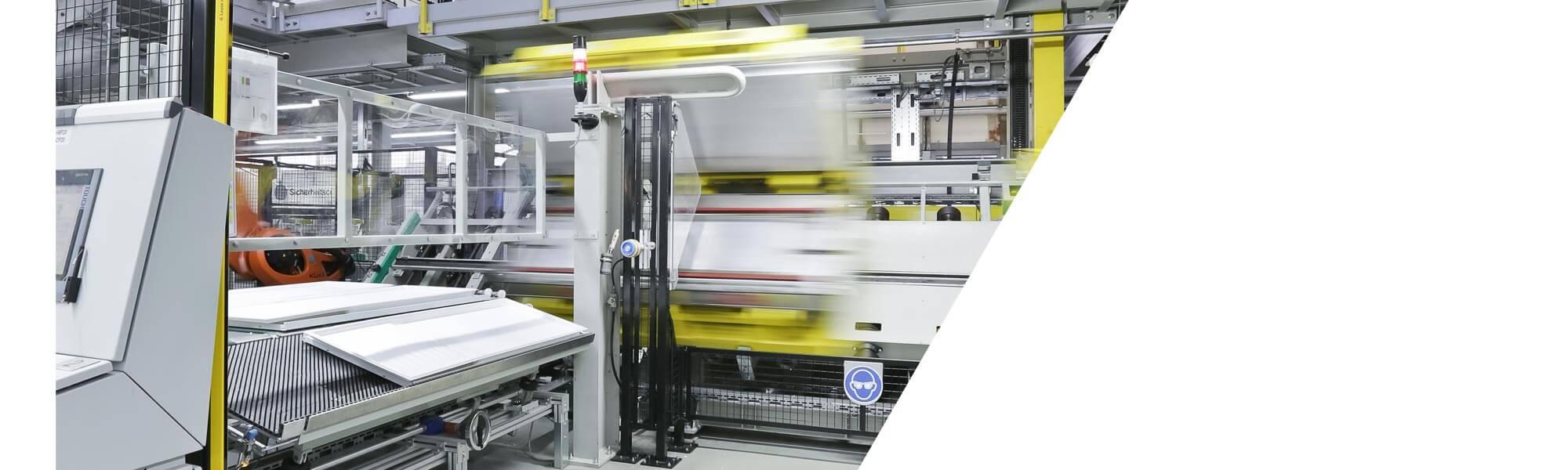 기술적 단열 용 생산 설비