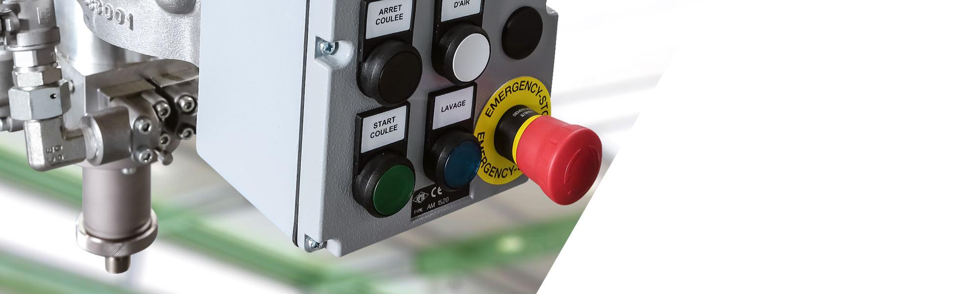 저압 ULTIMIX 교반기 믹스헤드는 반응성 성분의 안정적이고 균일한 혼합을 보장합니다.