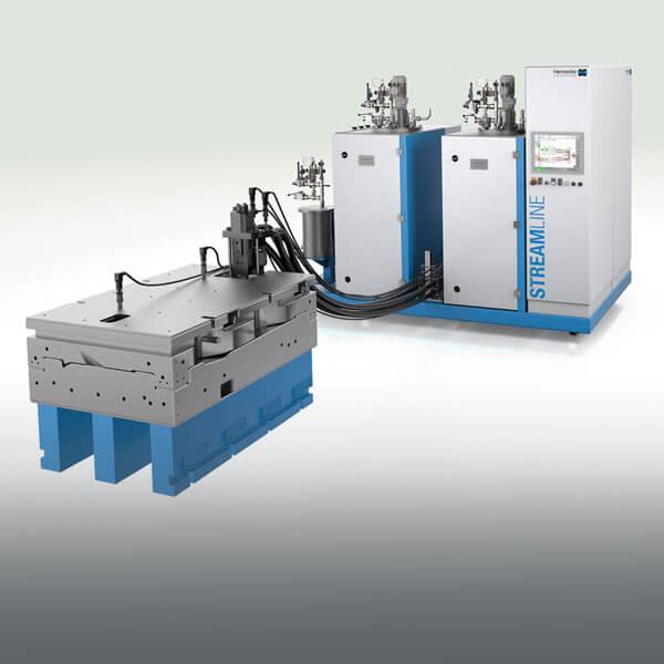 HP-RTM 설비