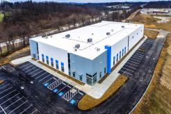 Hennecke GROUP's new North American headquarters in Bridgeville, Penn., just before finishing touches were added in February.